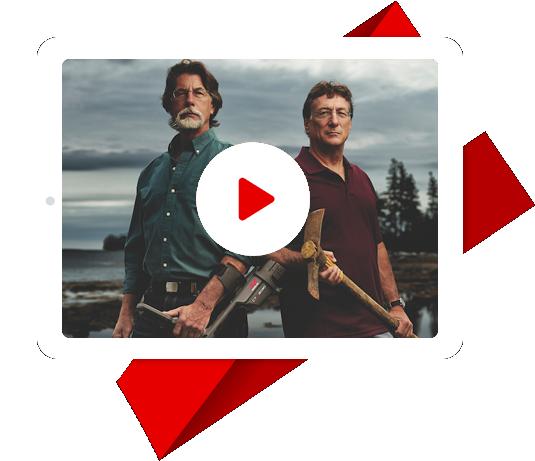 watch The Curse of Oak Island on netflix