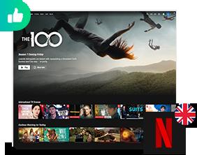Connect To Netflix UK