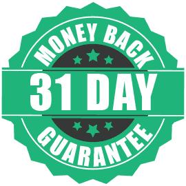 31 Day Money Back