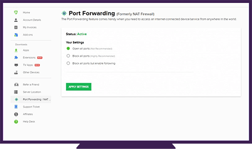 minecraft port forwarding