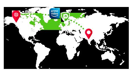 Amazon Prime change region