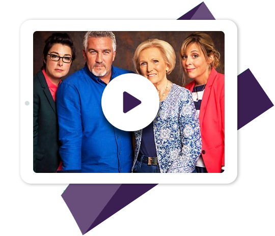 The Great British Bake Off with Channel 4 VPN