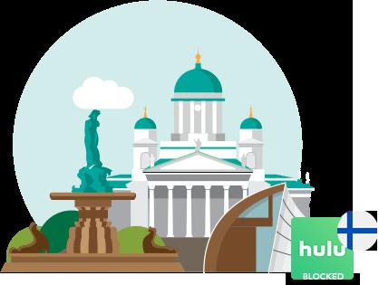 Access Hulu in Finland