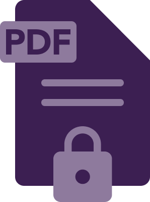 password protect a pdf