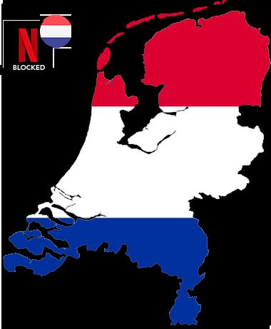 Watch American Netflix in Netherlands