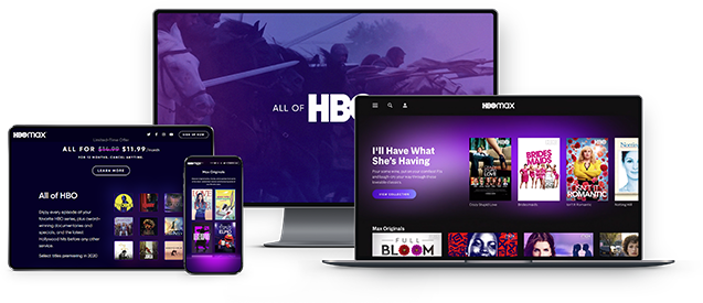 Access hbo max on any devices