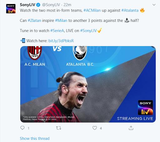 SonyLiv Sports Image 3