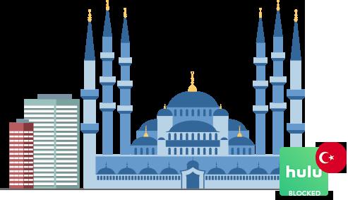 Access Hulu in Turkey