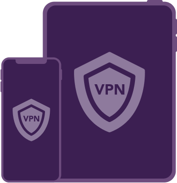 Securely route your internet traffic through the VPN and your ISP simultaneously.