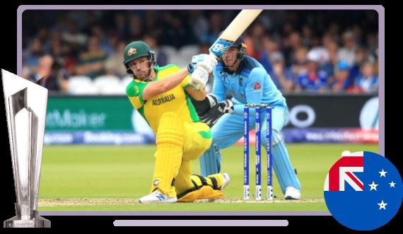 Watch ICC T20 Cricket World cup 2021 in NZ