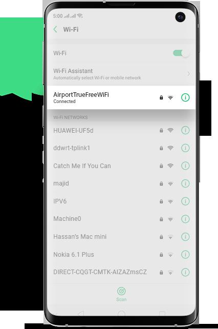 bangkok Airport Wifi Android