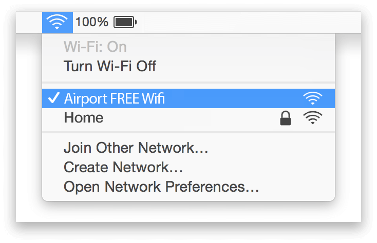 Birmingham Airport Wifi Mac