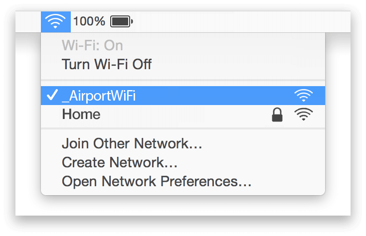 Doncaster Airport Wifi Mac