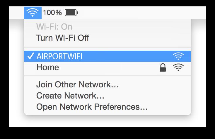 Incheon WiFi Mac