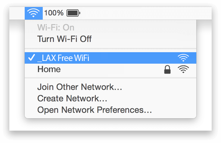 LAX WiFi Mac