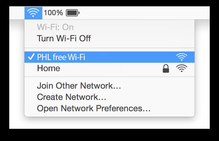 Philadelphia wifi Mac