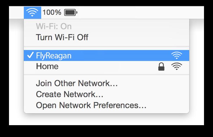 Reagan WiFi Mac