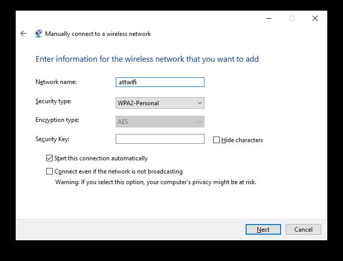 DFW WiFi Windows
