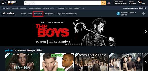Amazon Prime Sports 2