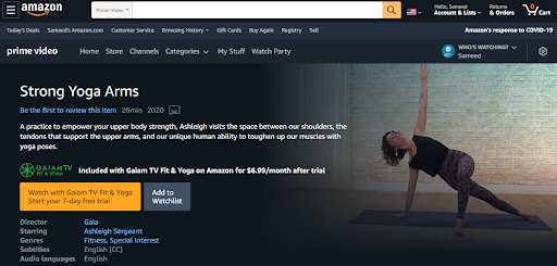 Amazon Prime Sports 5