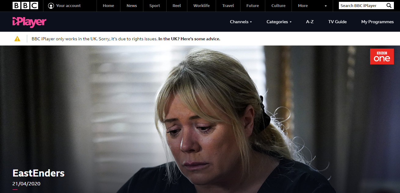 Watch BBC iPlayer on Ipad