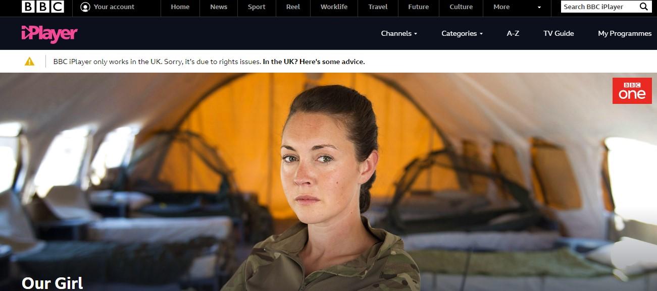 Watch BBC iPlayer in Europe
