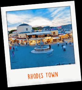 Rhodes Town Greece