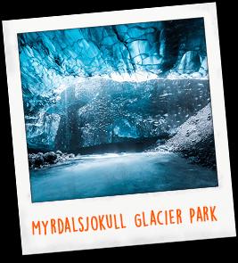 Myrdalsjokull Glacier Park Iceland