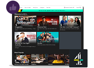 access Channel 4 with vpn