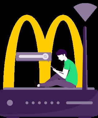 Access McDonald's Free WiFi Network