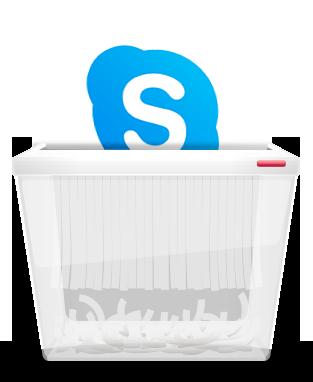刪除Skype帳戶