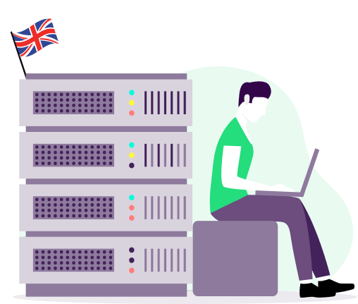 how to get uk private ip