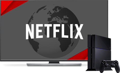 Watch American Netflix on PS4