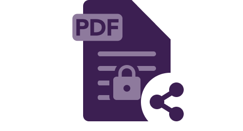 maintain privacy while sharing documents and pdf