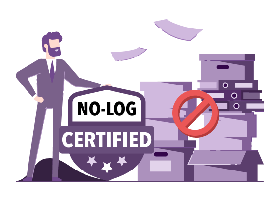 No log certificate