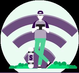 通過vpn安全使用公共wifi