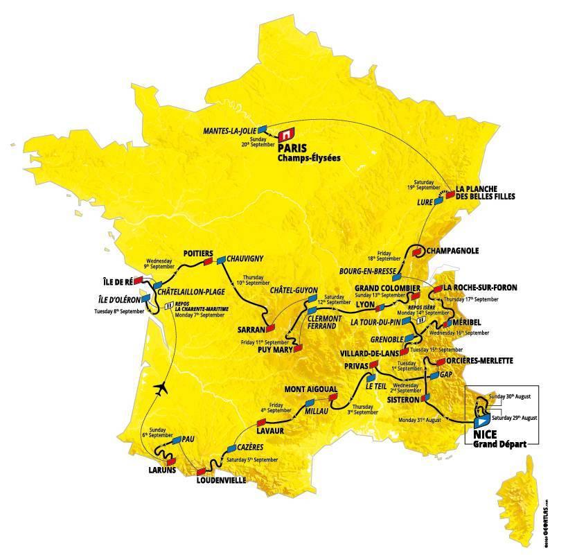 Tour De France Circuit