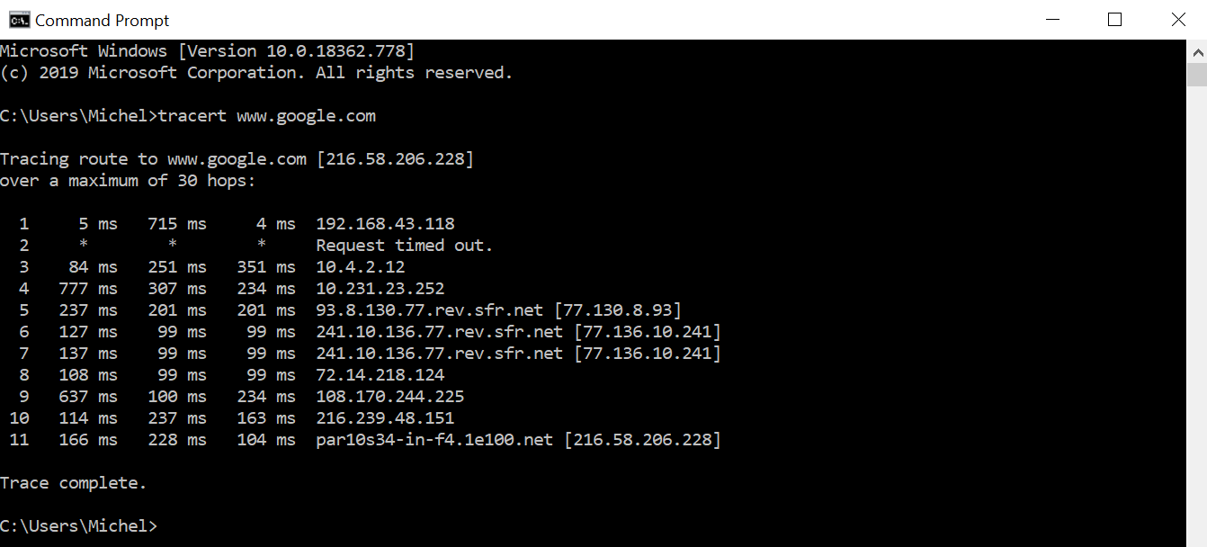 What is Traceroute?